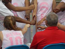 Basketball Hands In