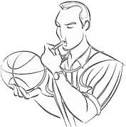 Referee bw